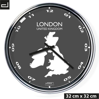 Office wall clock: London